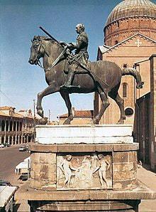 Donatello Monumento equestre al Gattamelata