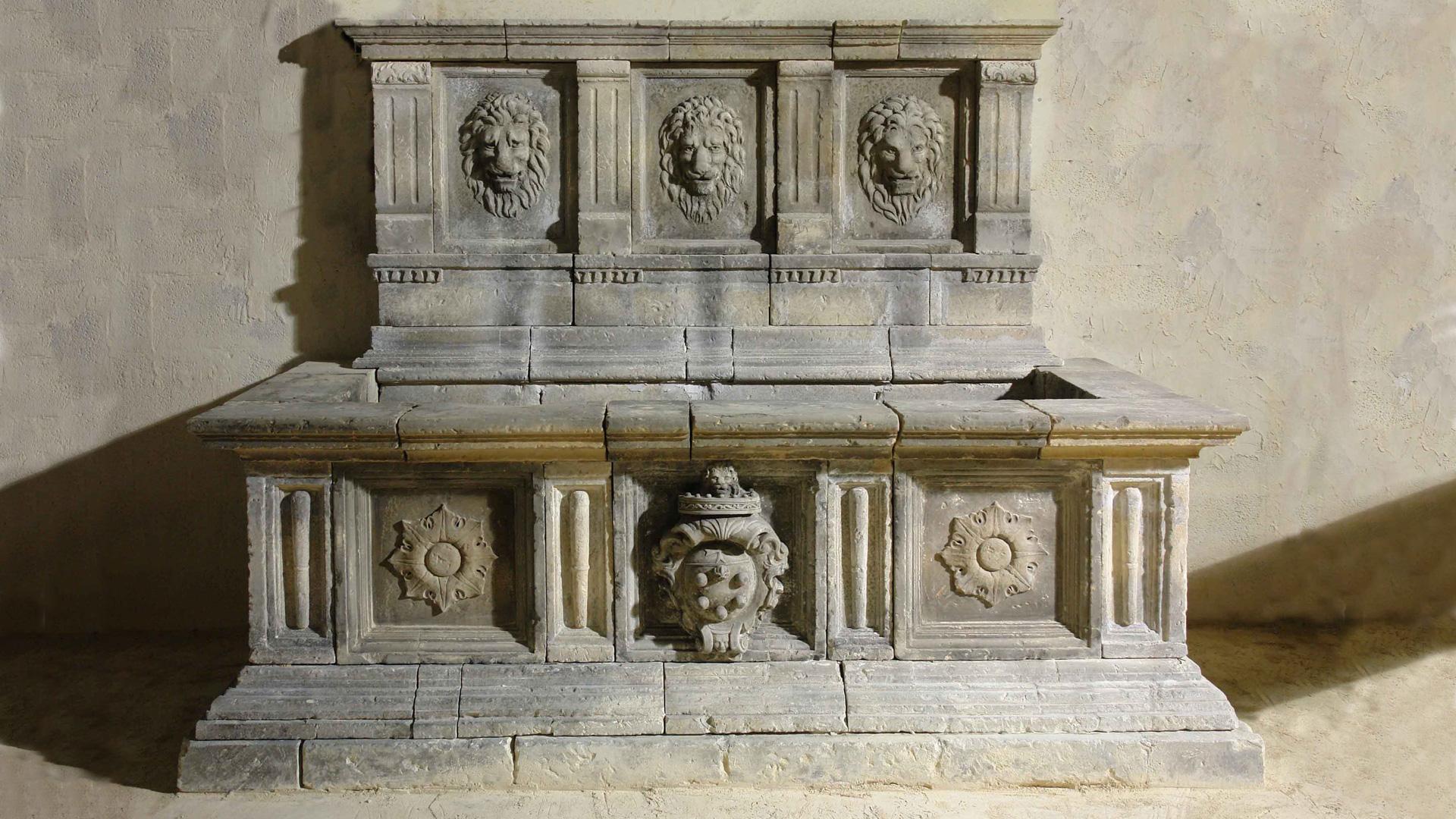 Vasche In Pietra Per Fontane fontana rinascimentale medici in pietra