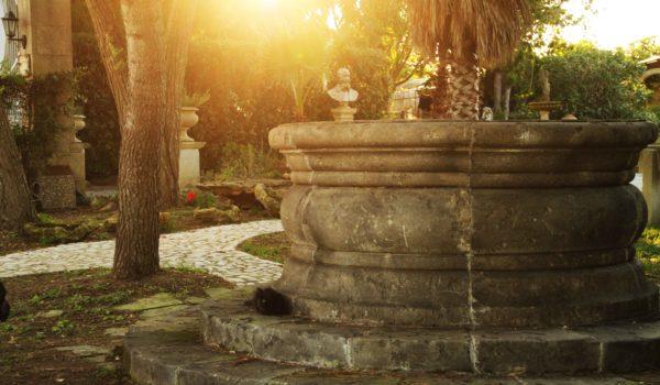 Pozzo Rotondo in pietra leccesa • Petrantica Sculture in pietra