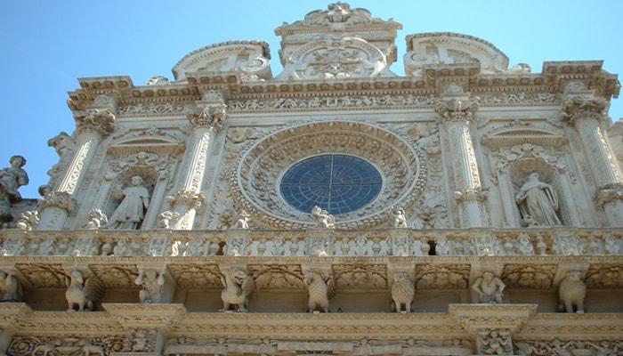 Facciata Cattedrale S. Croce a Lecce